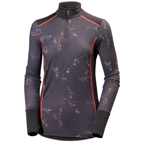 Helly Hansen Merino Mid Graphic 1/2 Zip