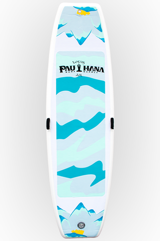 "Pau Hana Surf Supply 10'0"" Lotus Air Inflatable Stand Up Paddle Board (Front View)"