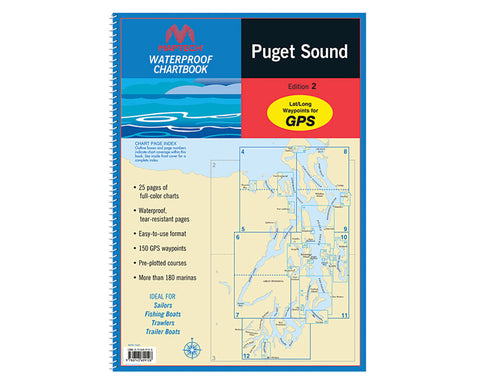 Maptech San Juan Islands Waterproof Chart