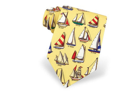NAME THAT BOAT TIE
