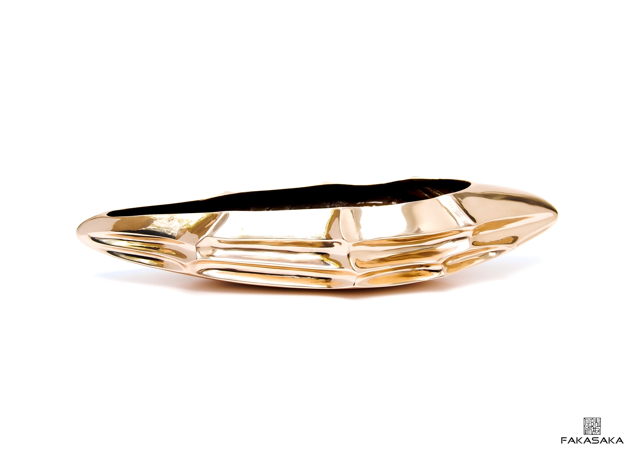 MARIAE BOWL / CENTERPIECE<br><br>POLISHED BRONZE
