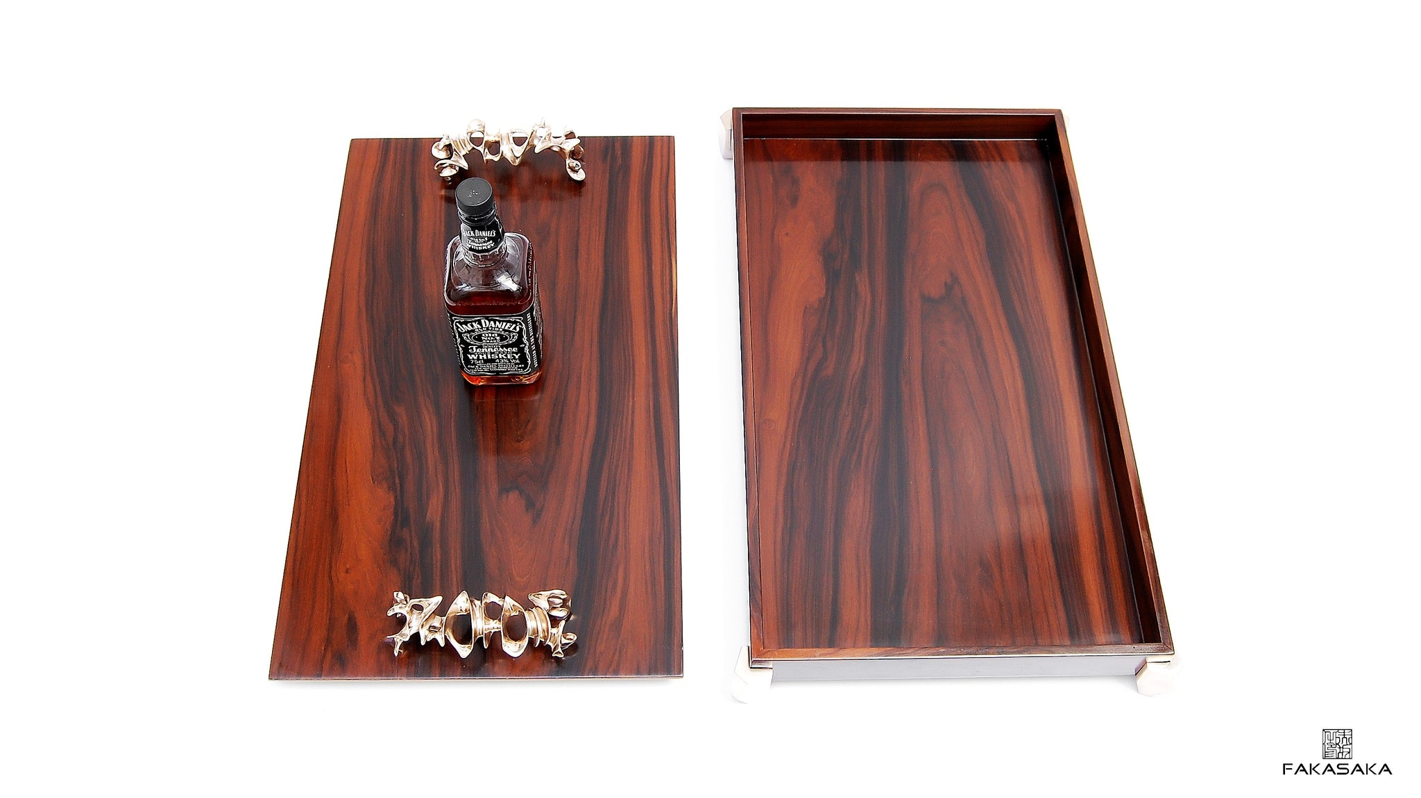 COHEN BAR TRAY [ROSEWOOD]