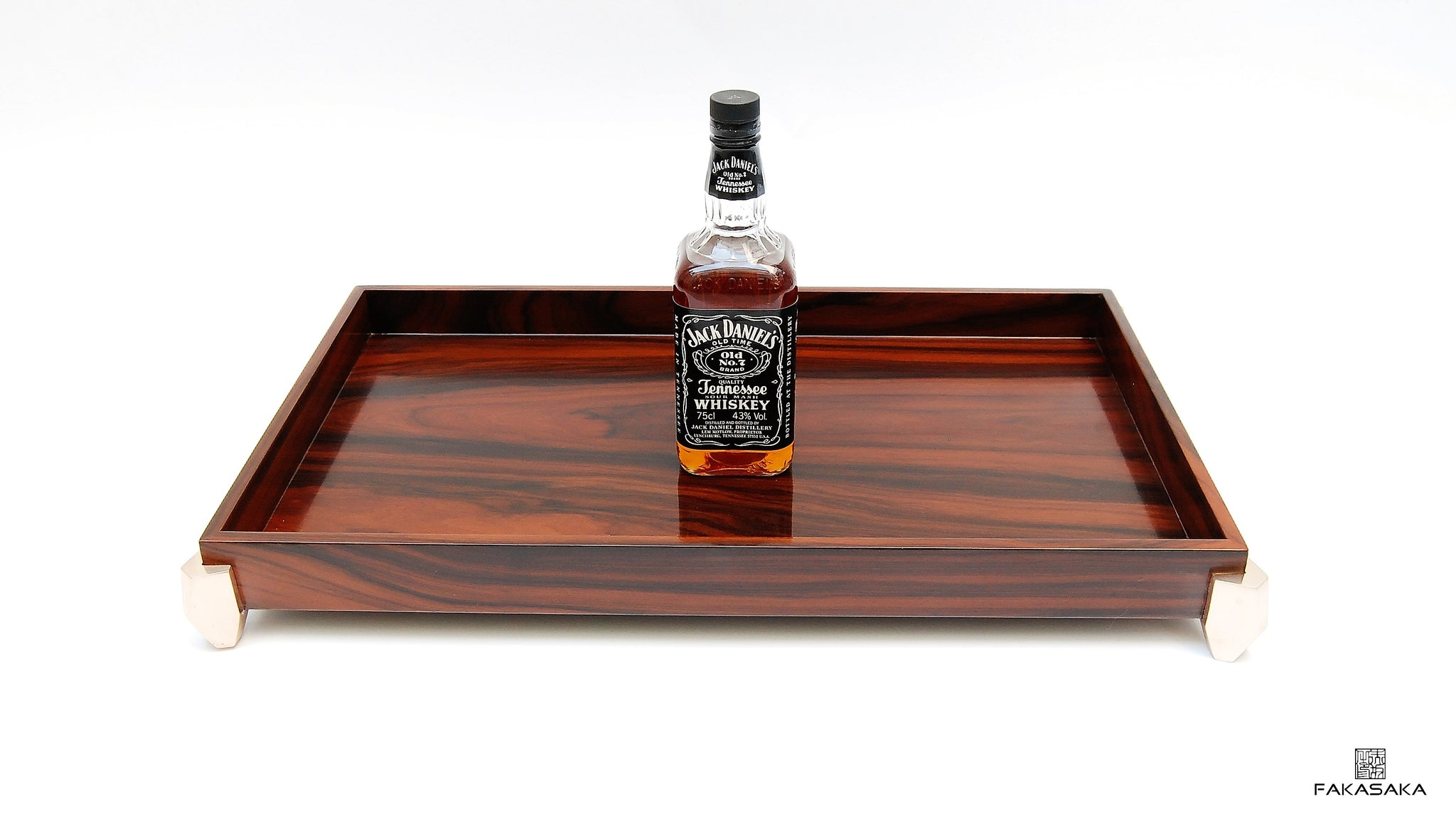 HENDRIX BAR TRAY [ROSEWOOD]