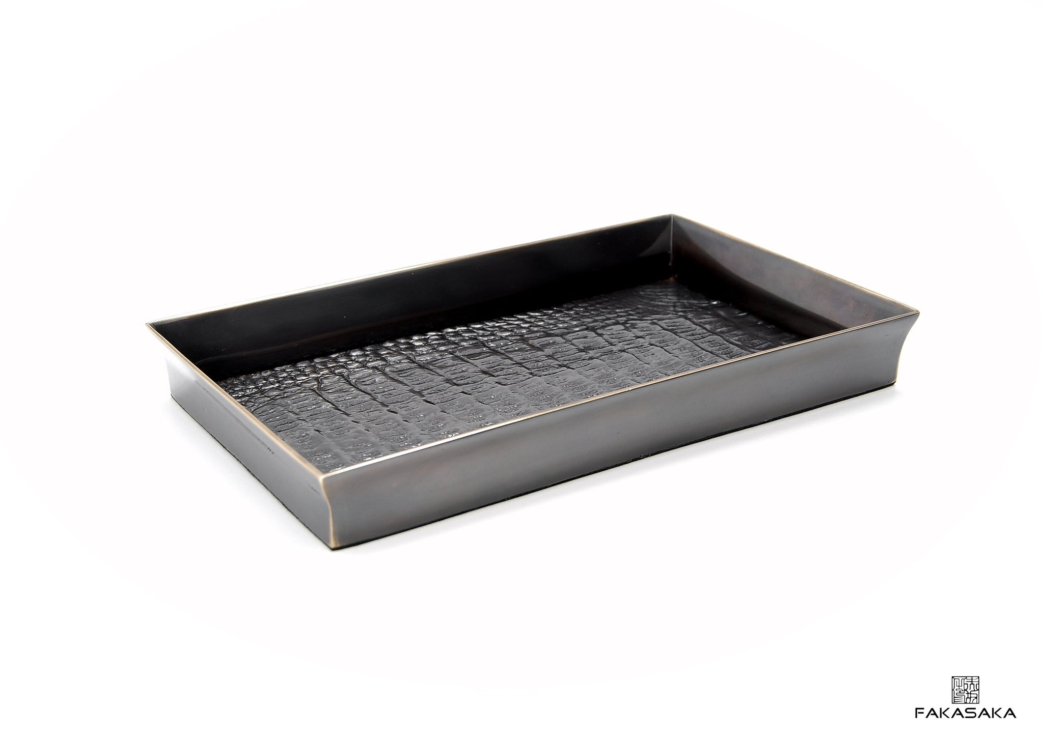 PATTI TRAY <br><br> DARK BRONZE