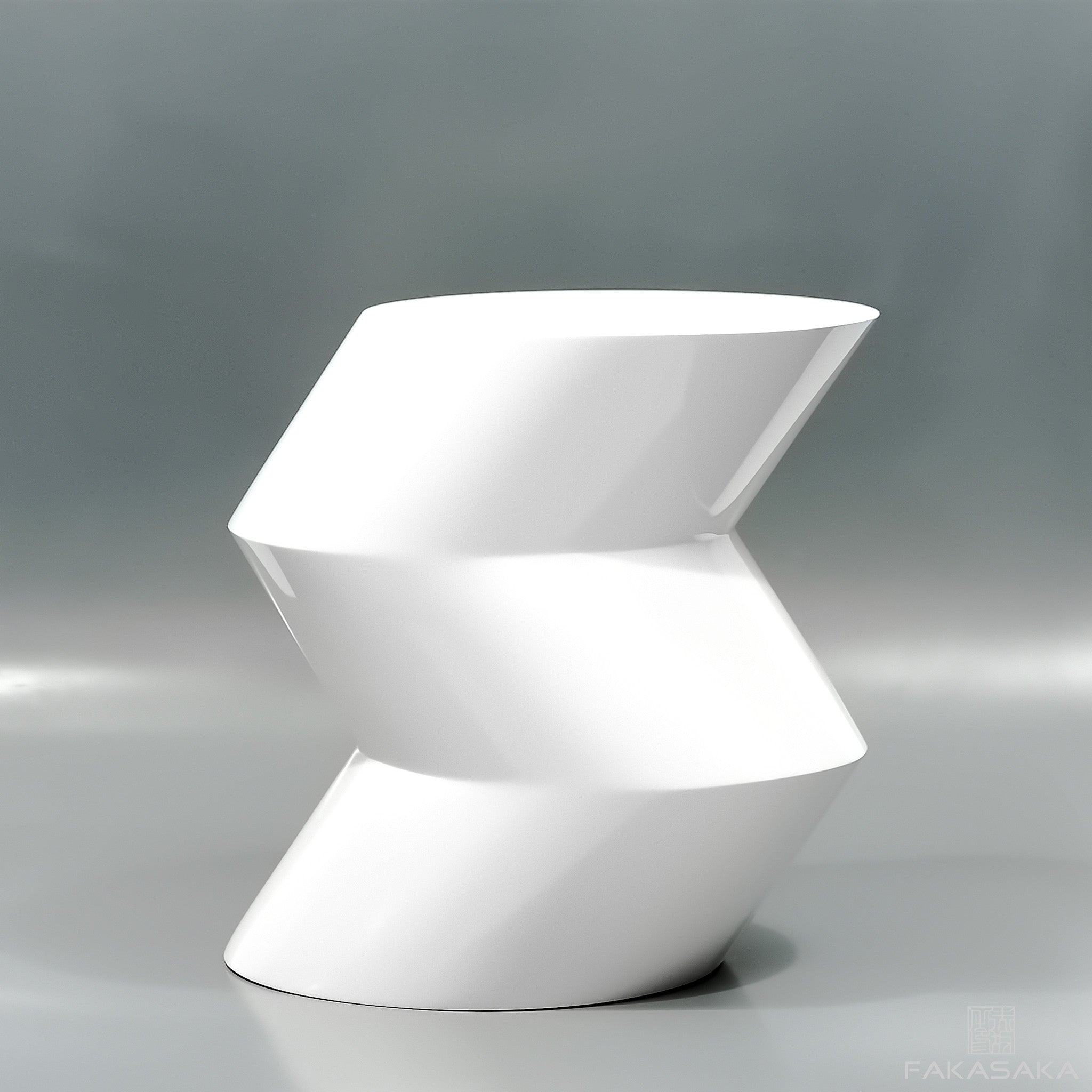 FA10 SIDE TABLE / DRINK TABLE<br><br>LACQUER WHITE