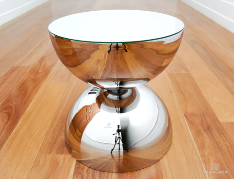 FA11 side table (chrome)