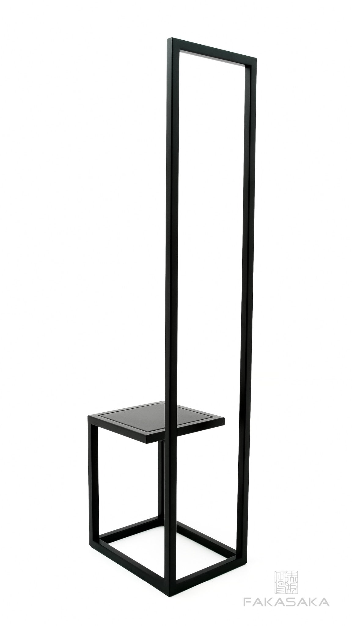 FA22 CHAIR<br><br>STAINLESS STEEL<br>BLACK