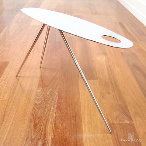 FA25 SIDE TABLE/ DRINK TABLE <br><br>CHROMED