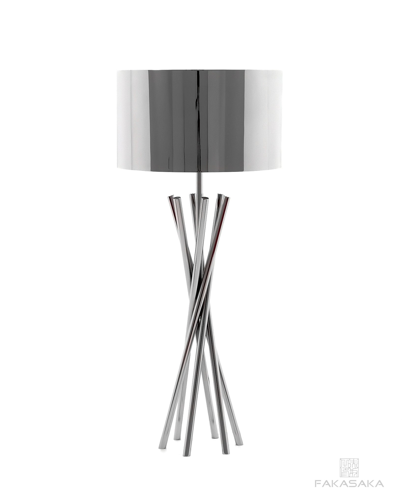FA31 TABLE LAMP<br><br>BRIGHT NICKEL