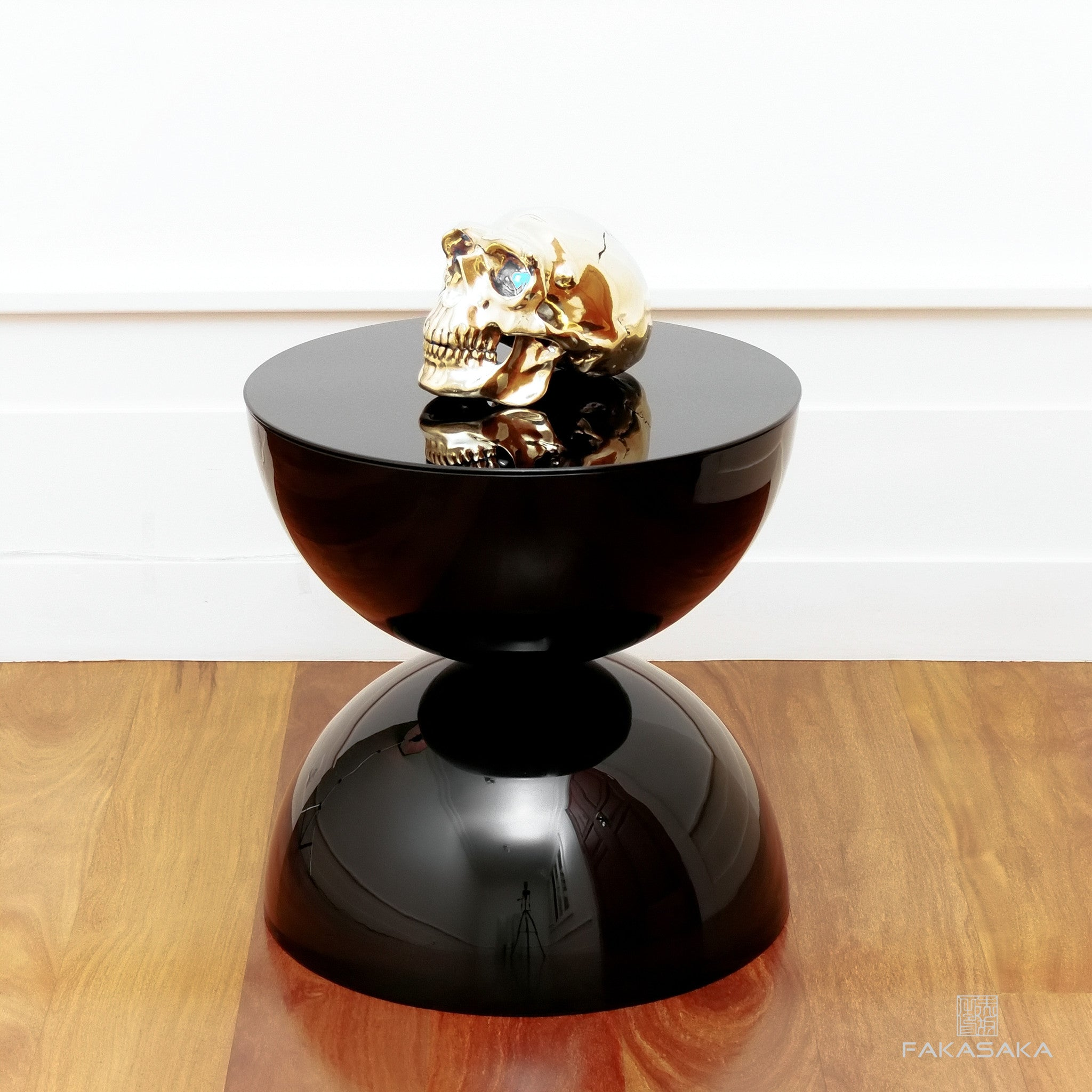 FRANKIE TABLE LAMP<br><br>GOLD PLATED BRONZE