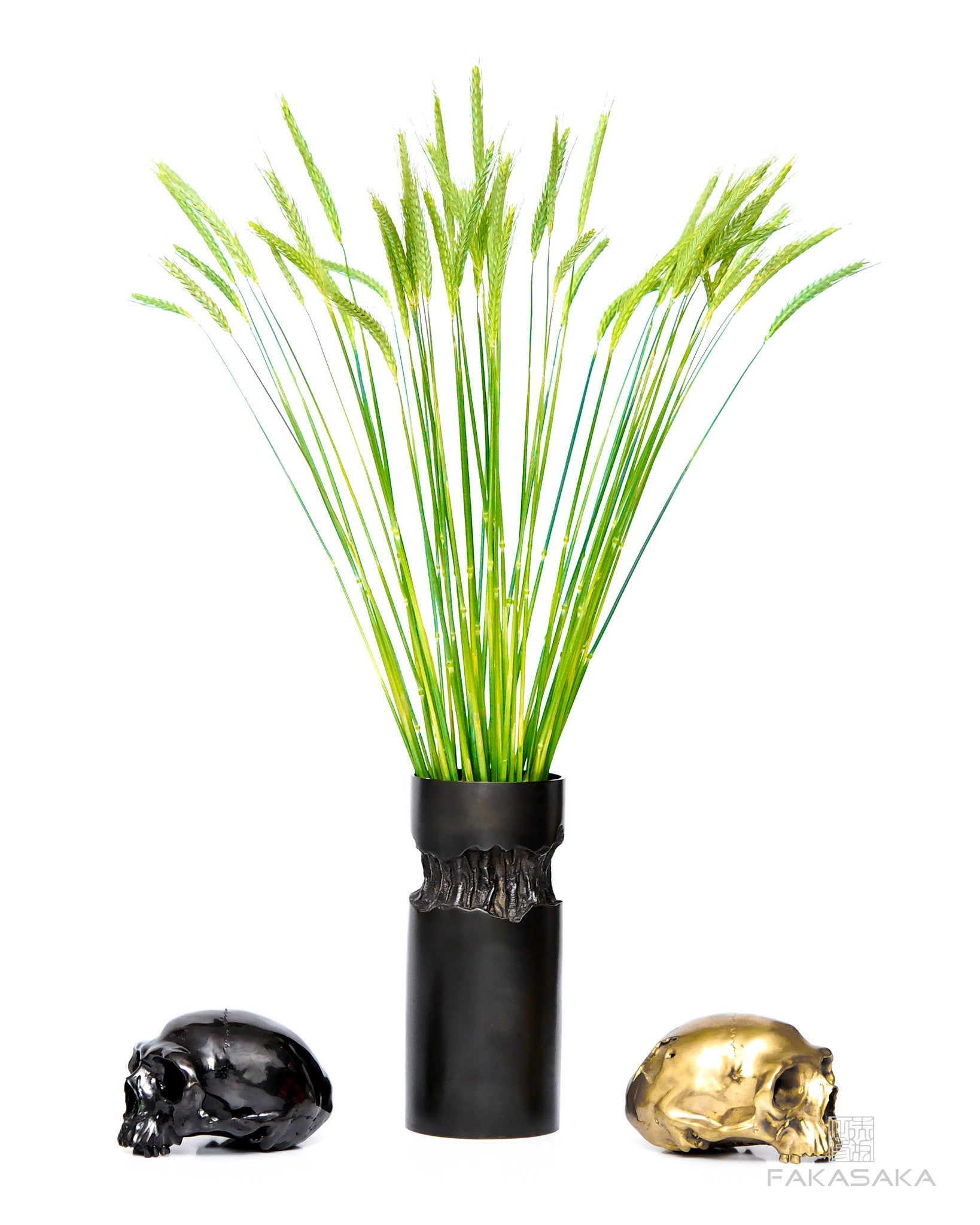 BORN TO DIE<br>SCULPTURE / TABLE LAMP<br><br>DARK BRONZE