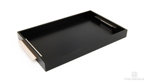 TRAY I (ebonized oak)