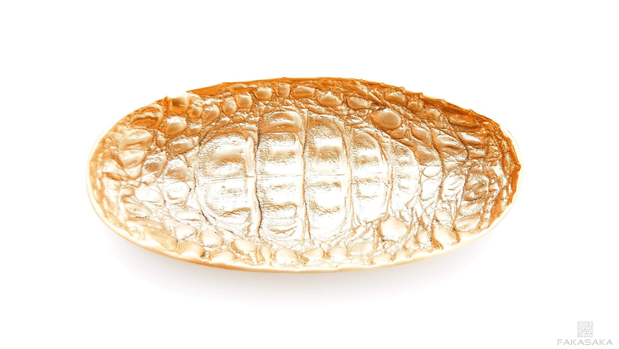 POLLY JEAN SMALL TRAY <br><br> GOLD PLATED BRONZE