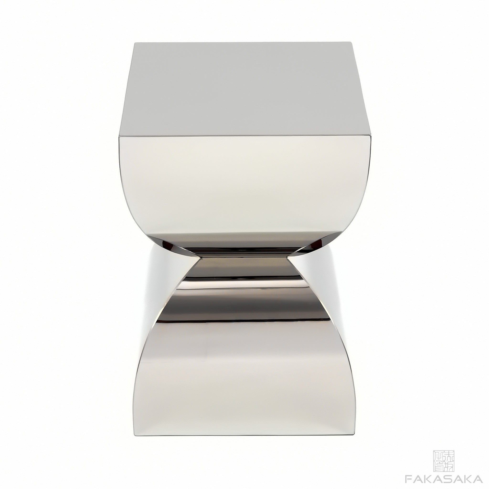 FA5 STOOL / SIDE TABLE /DRINK TABLE<br><br>STAINLESS STEEL