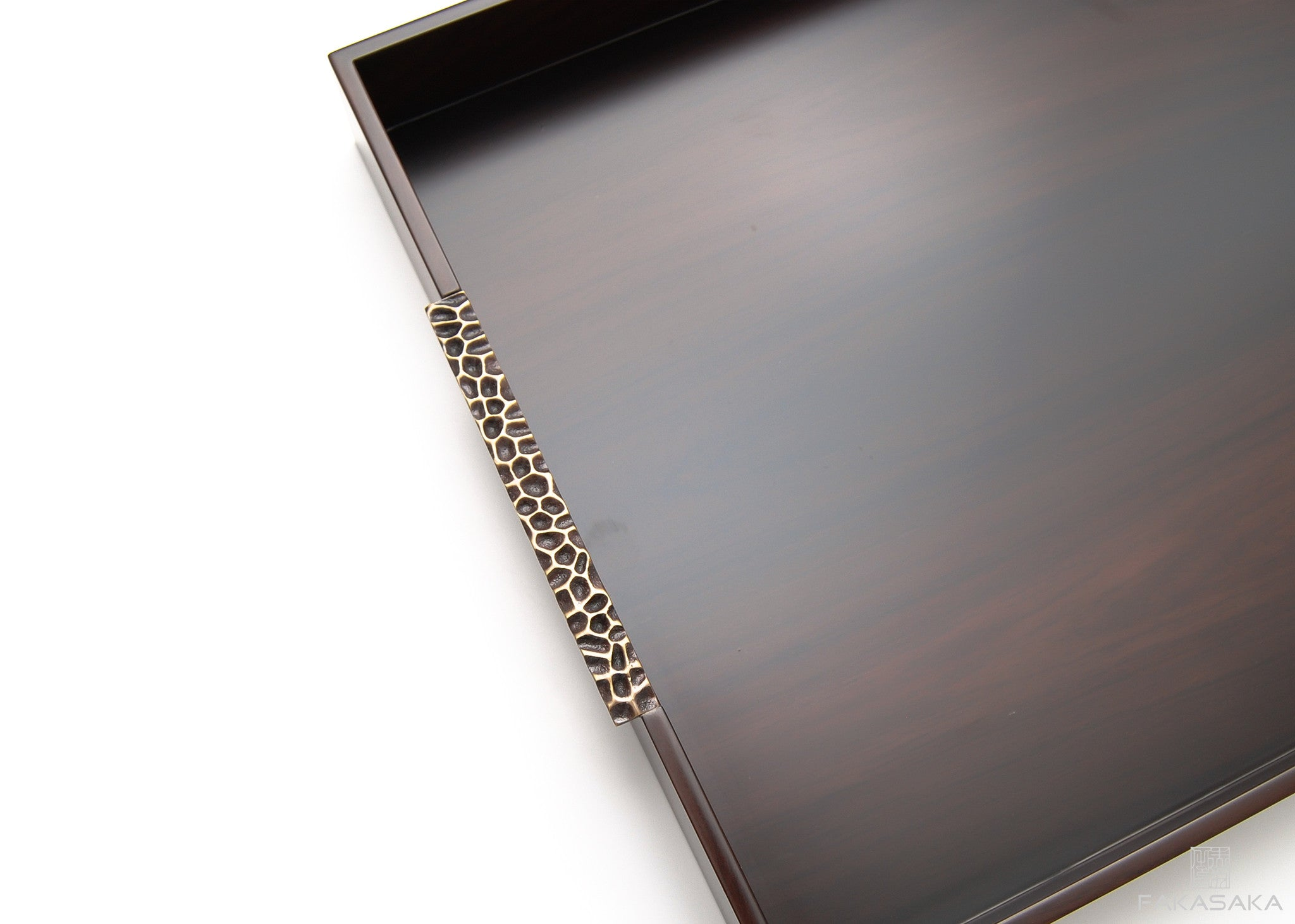 TRAY II (ebonized pau ferro)