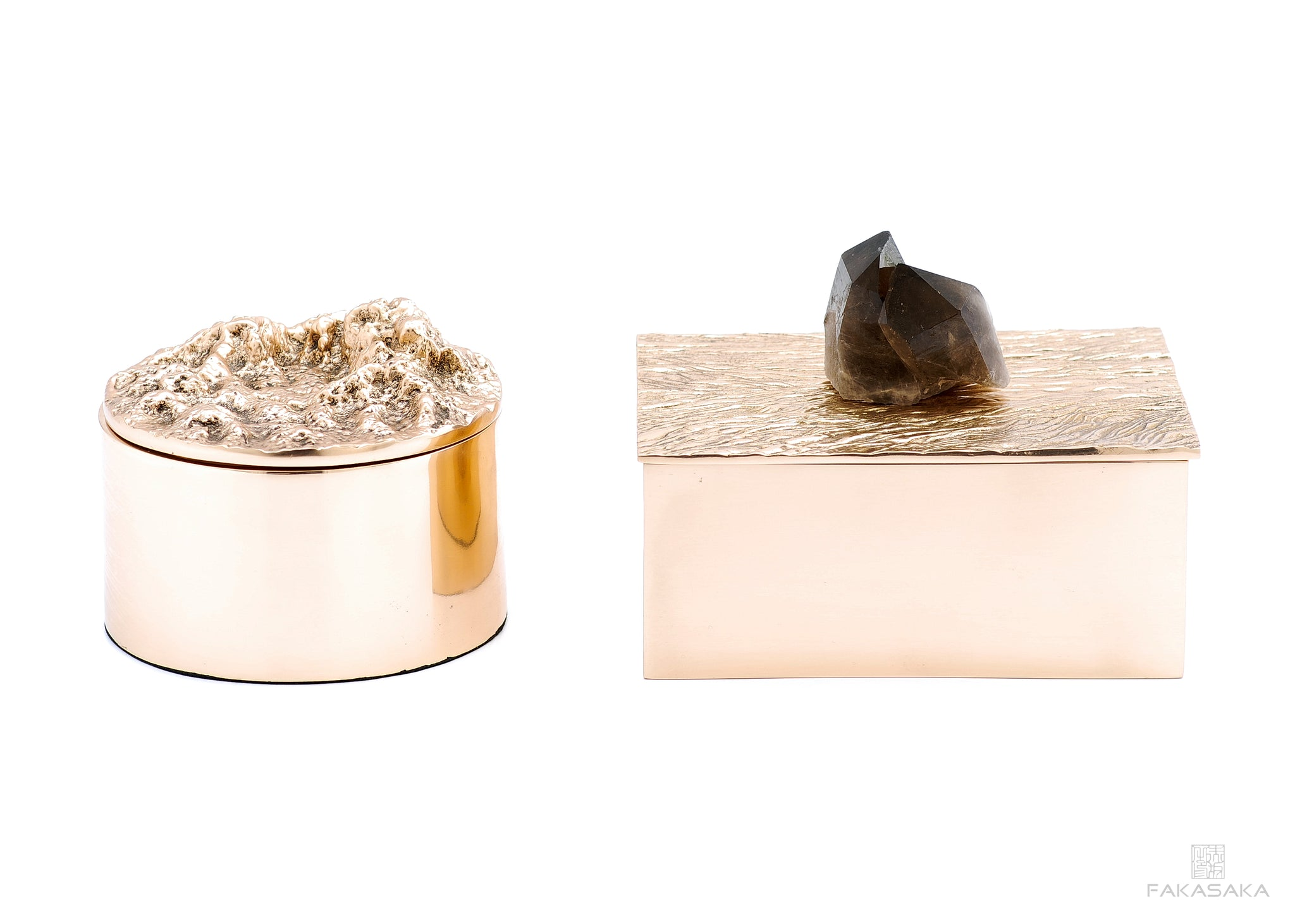 REM BOX<br><br>POLISHED BRONZE