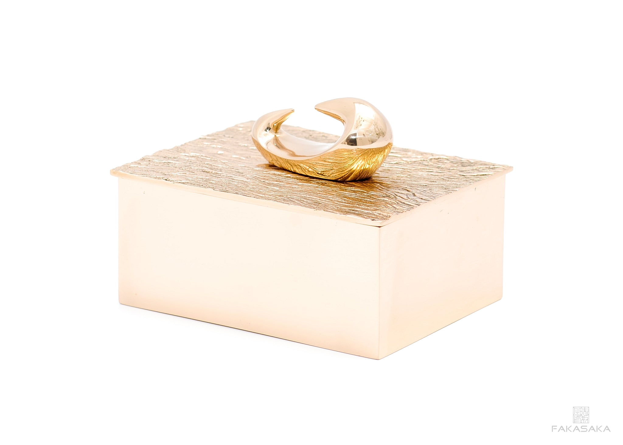 NICKS BOX<br>MAZZY SCULPTURE ON TOP<br><br>POLISHED BRONZE