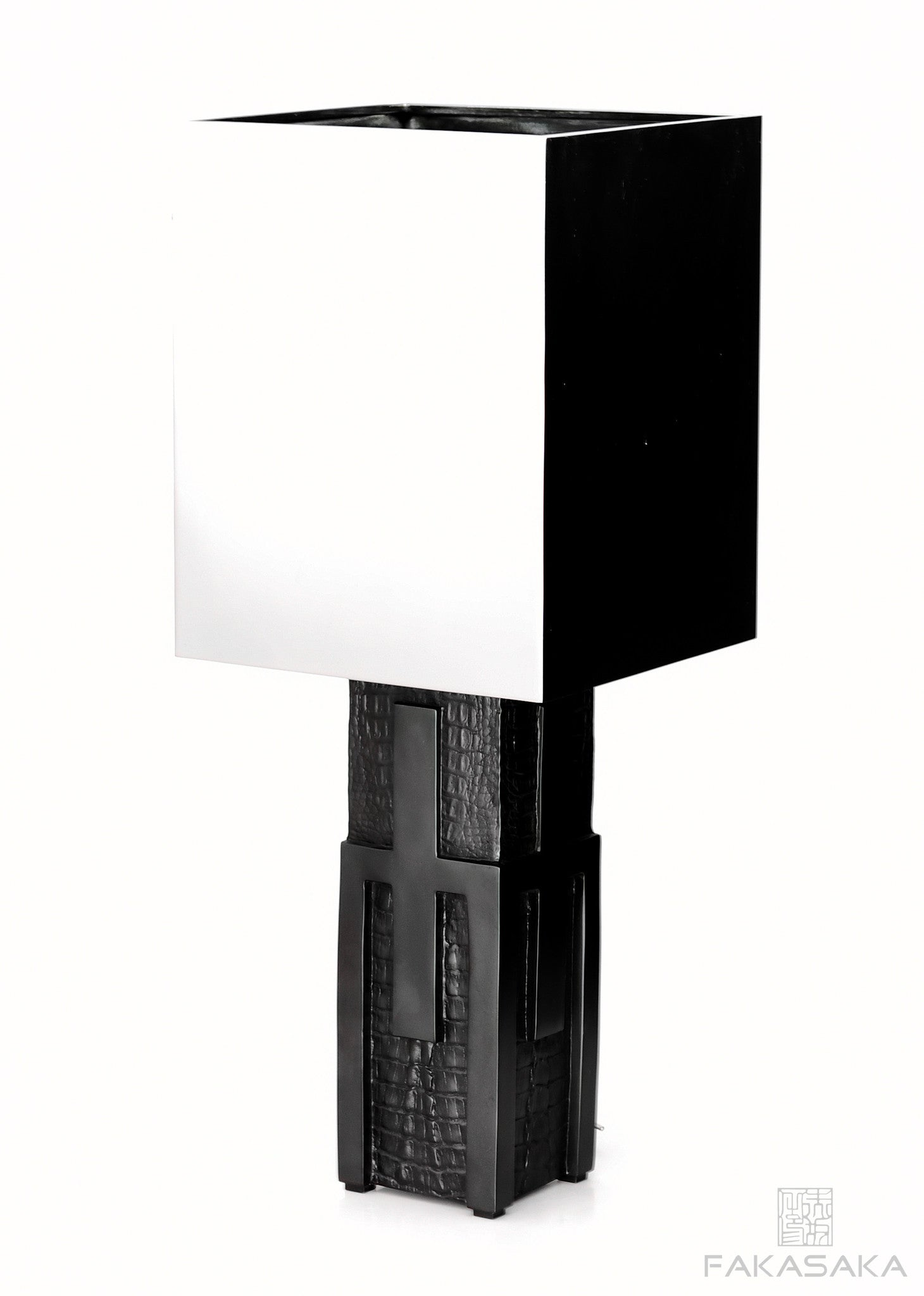 MARIAE 1 TABLE LAMP<br><br>DARK BRONZE<br>NICKEL SHADE