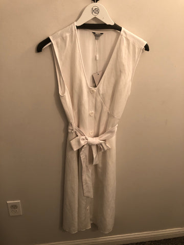 Rails White Dress