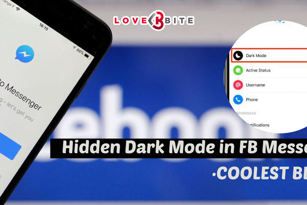 Hidden Dark Mode in FB Messenger ·COOLEST BLACK·