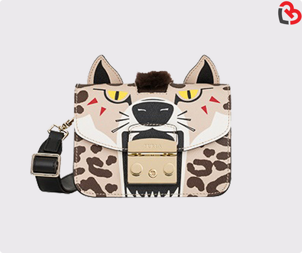 Furla Multicolour Toni Ocra Metropolis Jungle Crossbody Toni Petalo