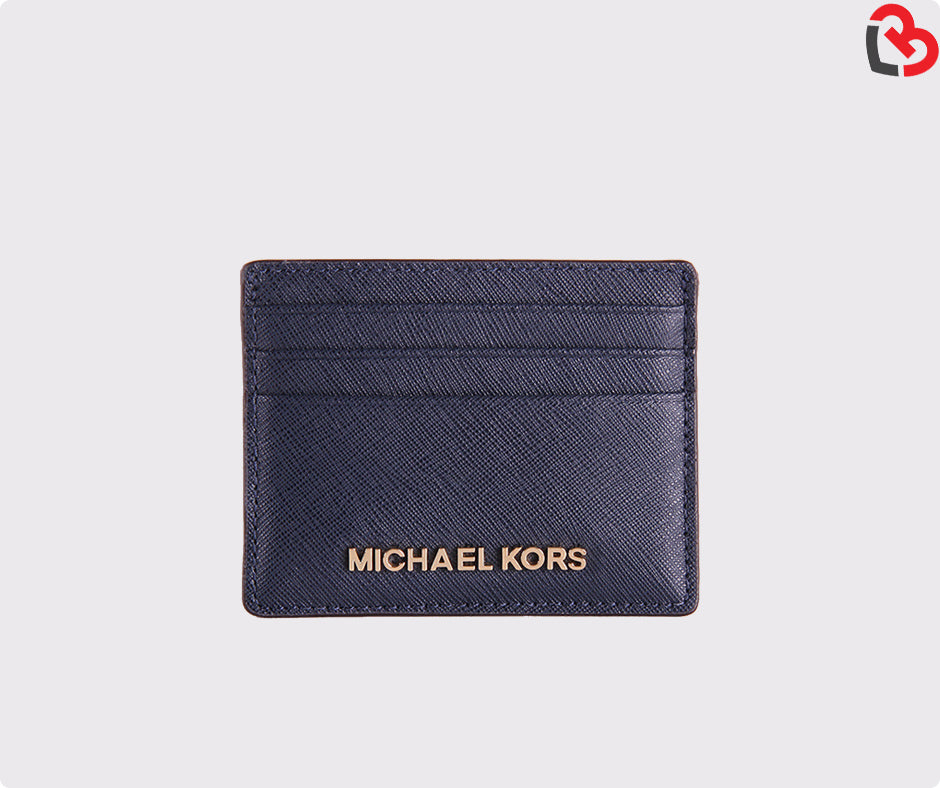 aa4b310006db Michael Kors Jet Set Travel LG Leather Card Holder Case
