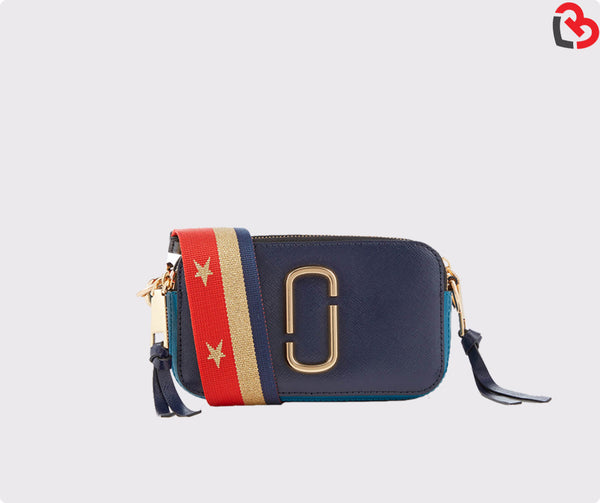 Marc Jacobs Midnight Blue Multi Women's Snapshot Cross Body Bag