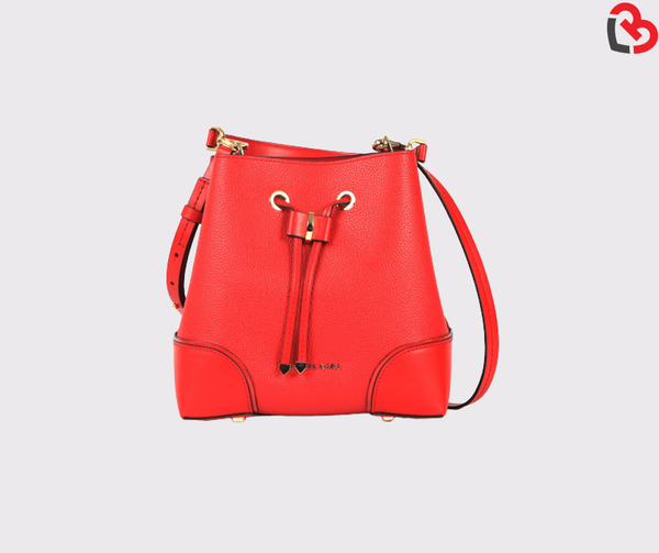 Michael Kors Mercer Gallery Leather Small Bucket Bag