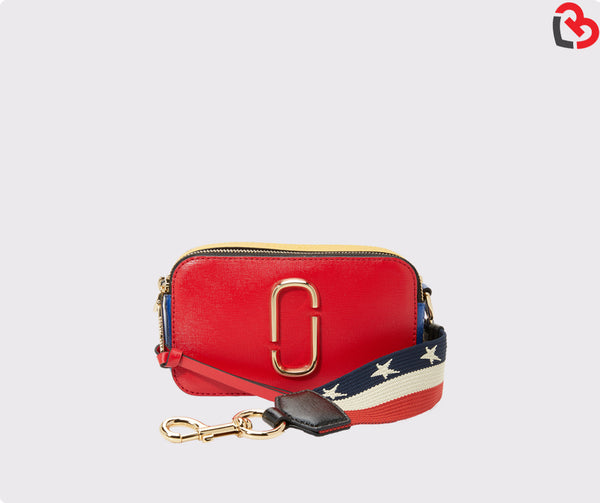 Marc Jacobs Red Snapshot Small camera Bag