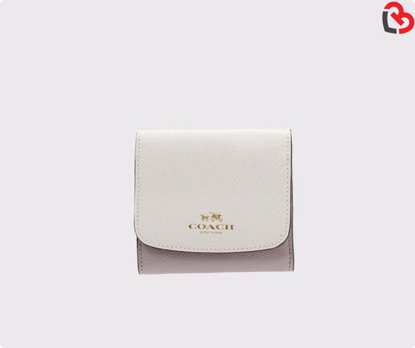 Coach Small Wallet In Colorblock (F53779)