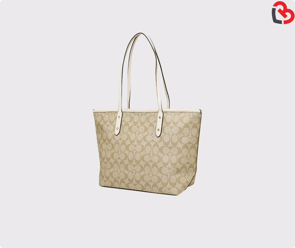 Coach City Zip Tote In Signature(F36876)