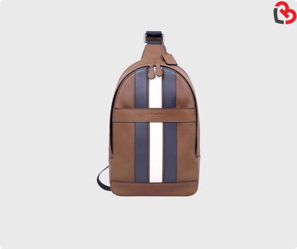 Coach Charles Pack With Varsity Stripe (F23215)