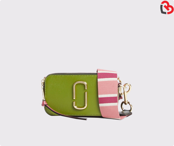 Marc Jacobs Shady Green Multi Snapshot Camera Bag