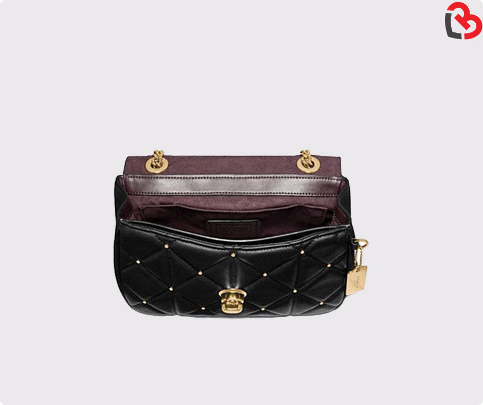 best site separation shoes latest style Coach Cassidy Crossbody With Studded Diamond Quilting (F38074)