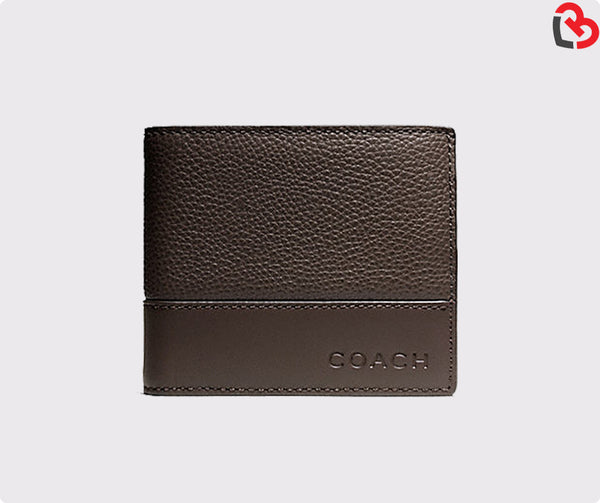 Coach Camden Leather Compact ID Wallet