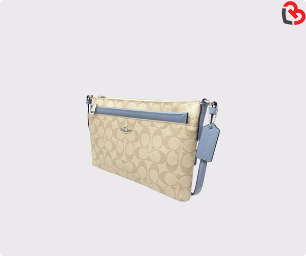 Coach East/West Crossbody With pop Up Pouch (F58316)