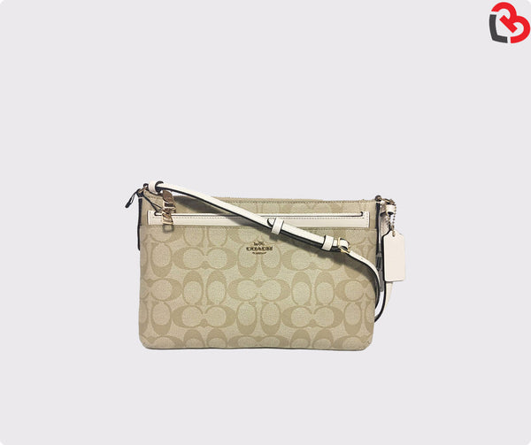 Coach East/West Crossbody With Pop Up Pouch(F58316)