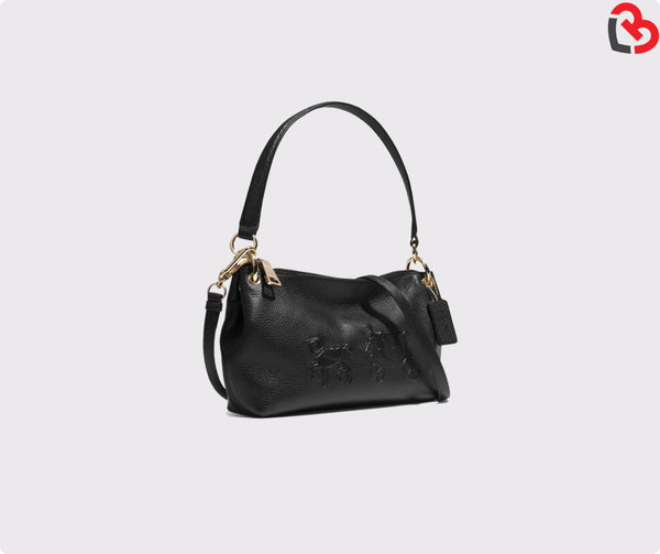 Coach Embossed Horse And Carriage Charley Crossbody