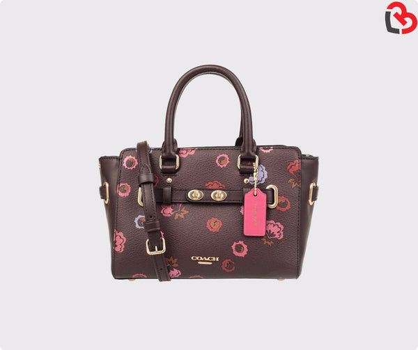Coach Mini Blake Carryall With Primrose Floral Print (F22318)