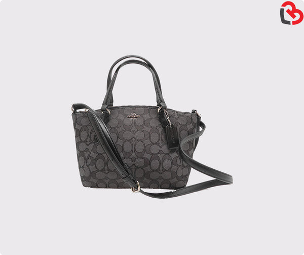 Coach Mini Kelsey Satchel In Outline Signature (F57830)