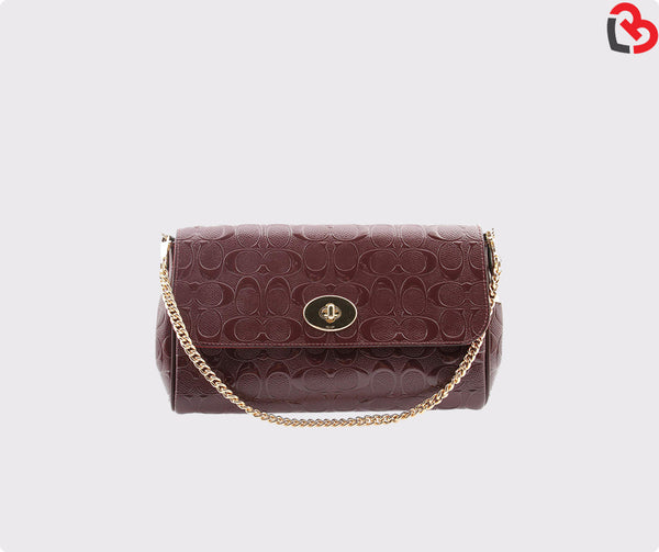 Coach Ruby Crossbody In Signature Debossed Patent Leather (F55452)