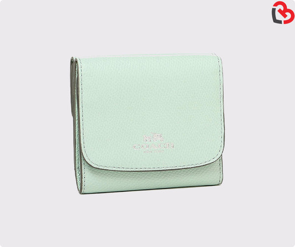 Coach Small Wallet In Crossgrain Leather (F53768)