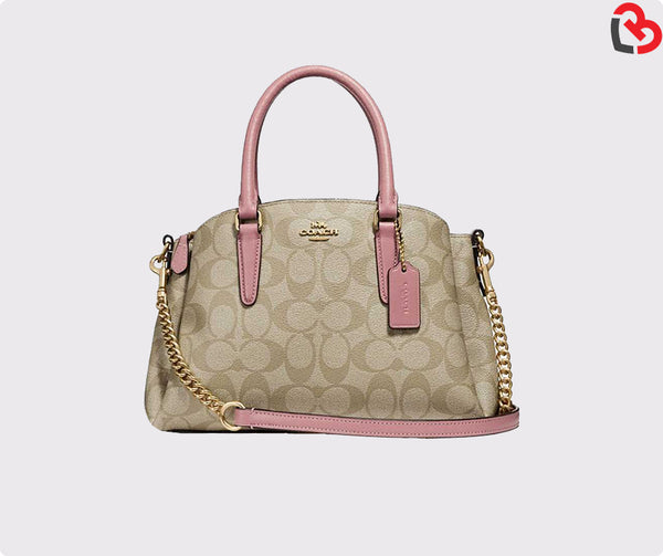 Coach Mini Sage Carryall in Signature Canvas