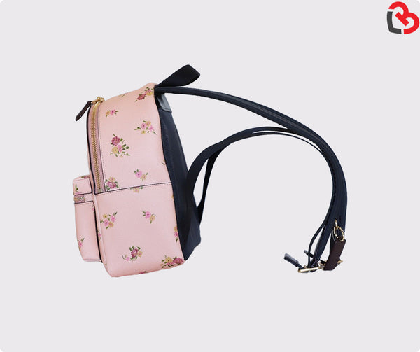 Coach Vintage Pink Disney Minnie Floral Charlie Backpack Limited Edition