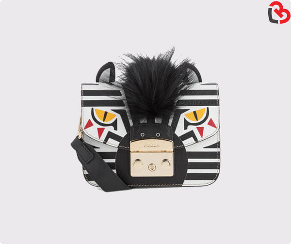 Furla Multicolour Toni Petalo Metropolis Jungle Crossbody Toni Petalo