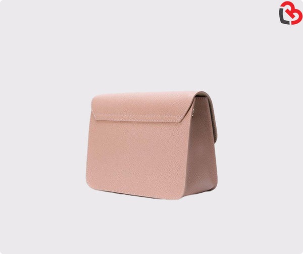 Furla Pale Pink Metropolis Mini Crossbody Bag
