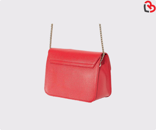 Furla Red Metropolis Mini Crossbody Bag