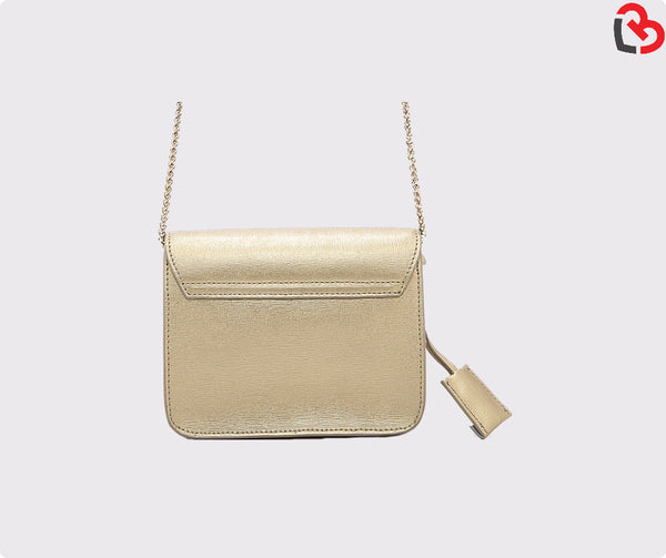 Furla Gold Metropolis Mini Crossbody