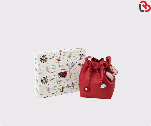 Grace Gift Minnie drawstring cylinder bag