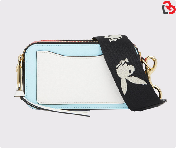 Marc Jacobs Baby Blue Multi Snapshot Small Camera Bag